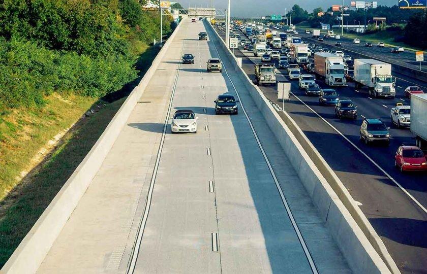 Traffic on the Northwest Corridor Express Lanes