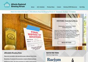 Atlanta Regional Housing Forum website