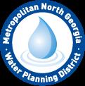 logo for Metropolitan North Georgia Water Planning District