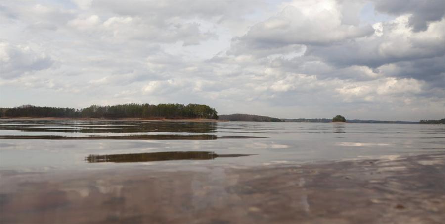 Despite 2017's rainfall, Lake Lanier remains 5.7 feet below full pool.